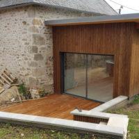 extension bois et zinc