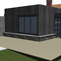 projet extension bois correze