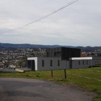 #maisonbois #maisonmoderne #architecturecontemporaine #Eternit #zinc
